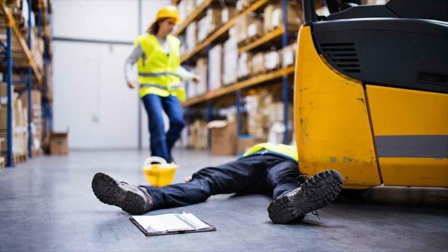 Accidentes de trabajo bajan a la mitad en una década