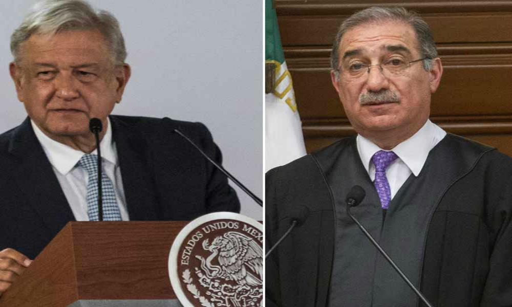 AMLO va por reducción de sueldo a ministros; impugnó a la SCJN