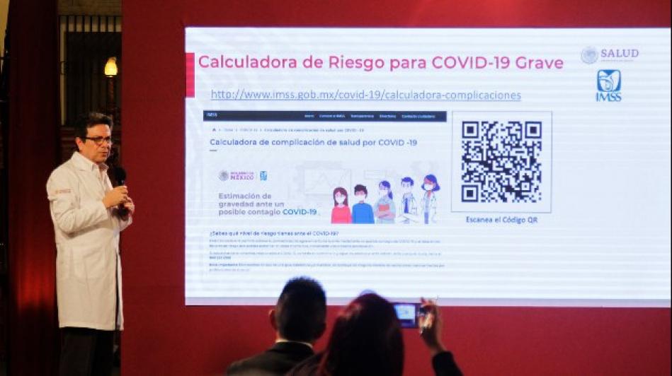 Crea IMSS calculadora sobre riesgo por Covid-19