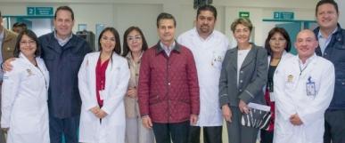 Inauguran hospitales en Edomex