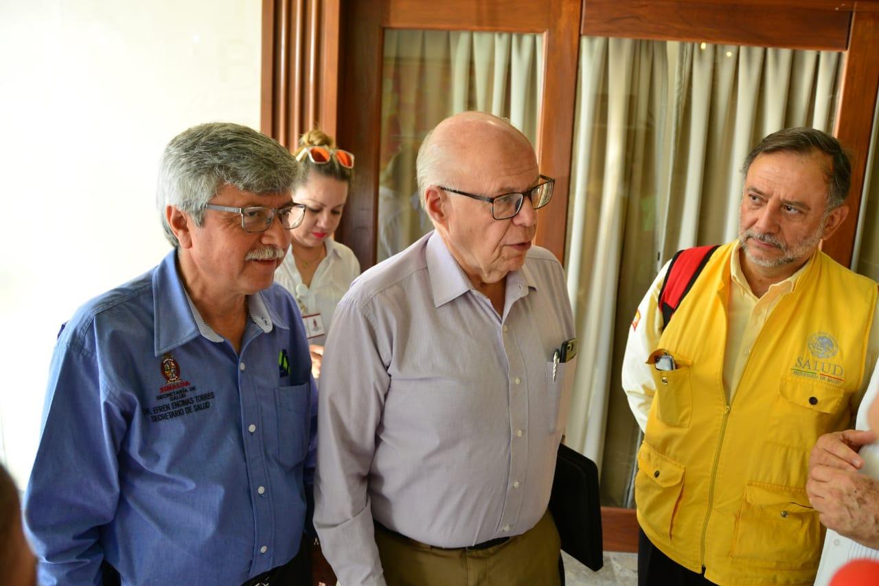 Instruye José Narro prevenir riesgos a la salud en Sinaloa