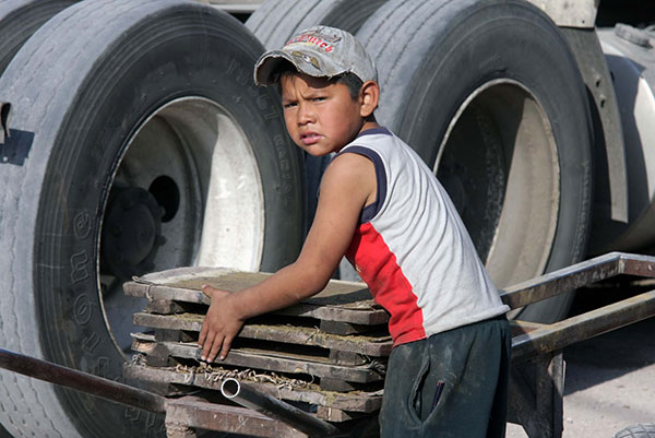 La labor para erradicar el trabajo infantil, insuficiente: CNDH