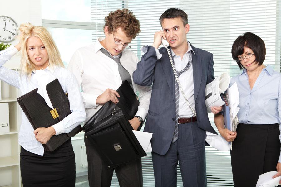 Mal comportamiento del  compañero de trabajo... ¿y el nuestro?