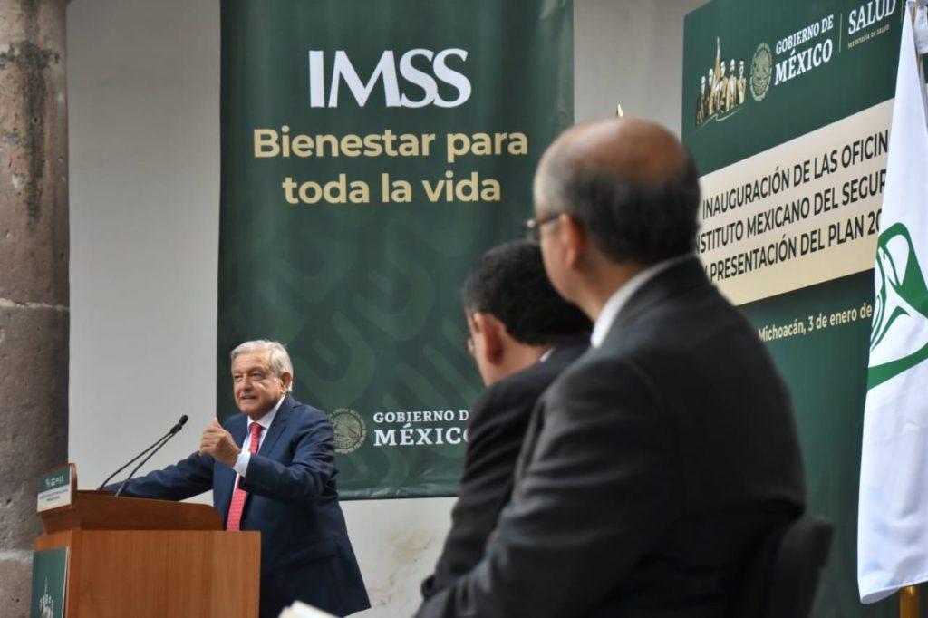 Recorrerá AMLO hospitales del IMSS