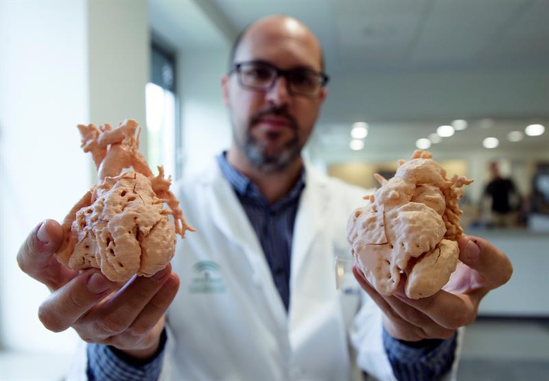 Replicarán órganos con impresora 3D
