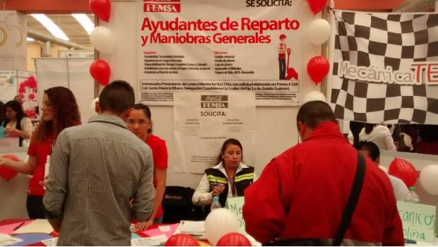 Repunta CDMX en generación de empleos: Sedeco