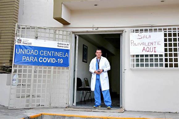 Salud de Nuevo León e IMSS buscan ampliar espacios para Covid-19