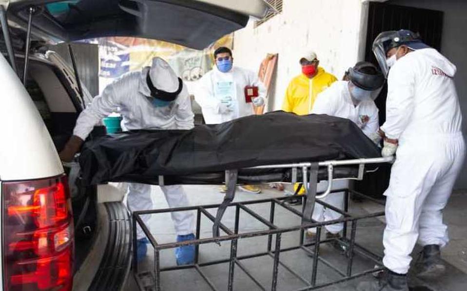 Suman ya 7,633 muertes y 71 mil 105 casos de Covid-19