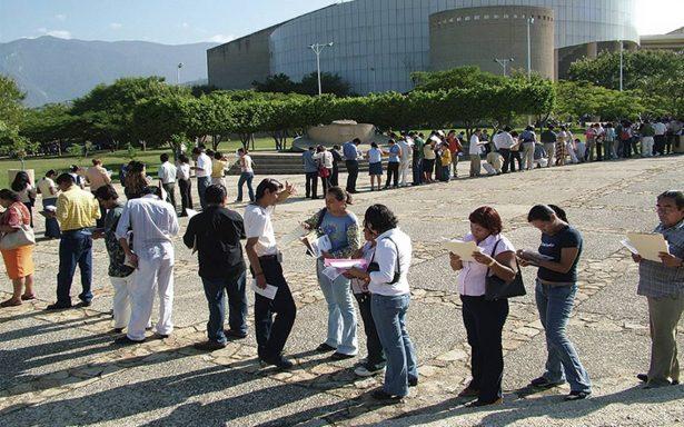 Desempleo repuntó en México