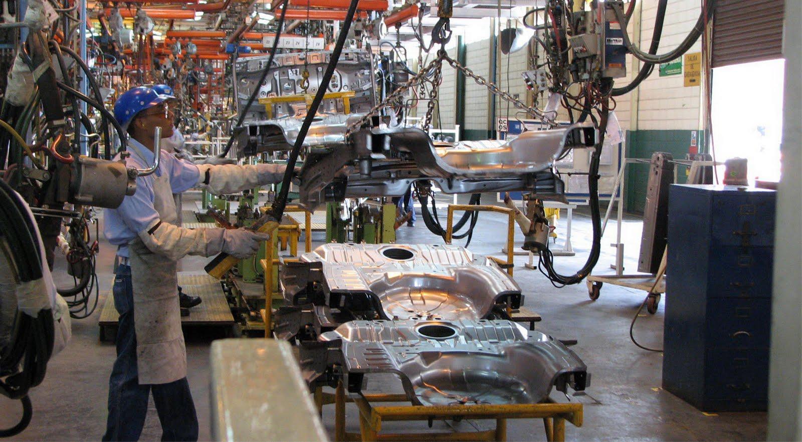 Baja actividad industrial 1%, el mayor descalabro en dos años
