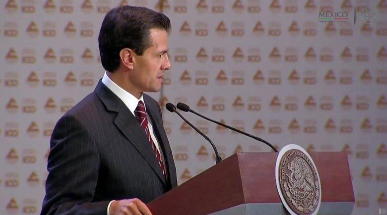 Pide Peña Nieto dejar de lado el pesimismo